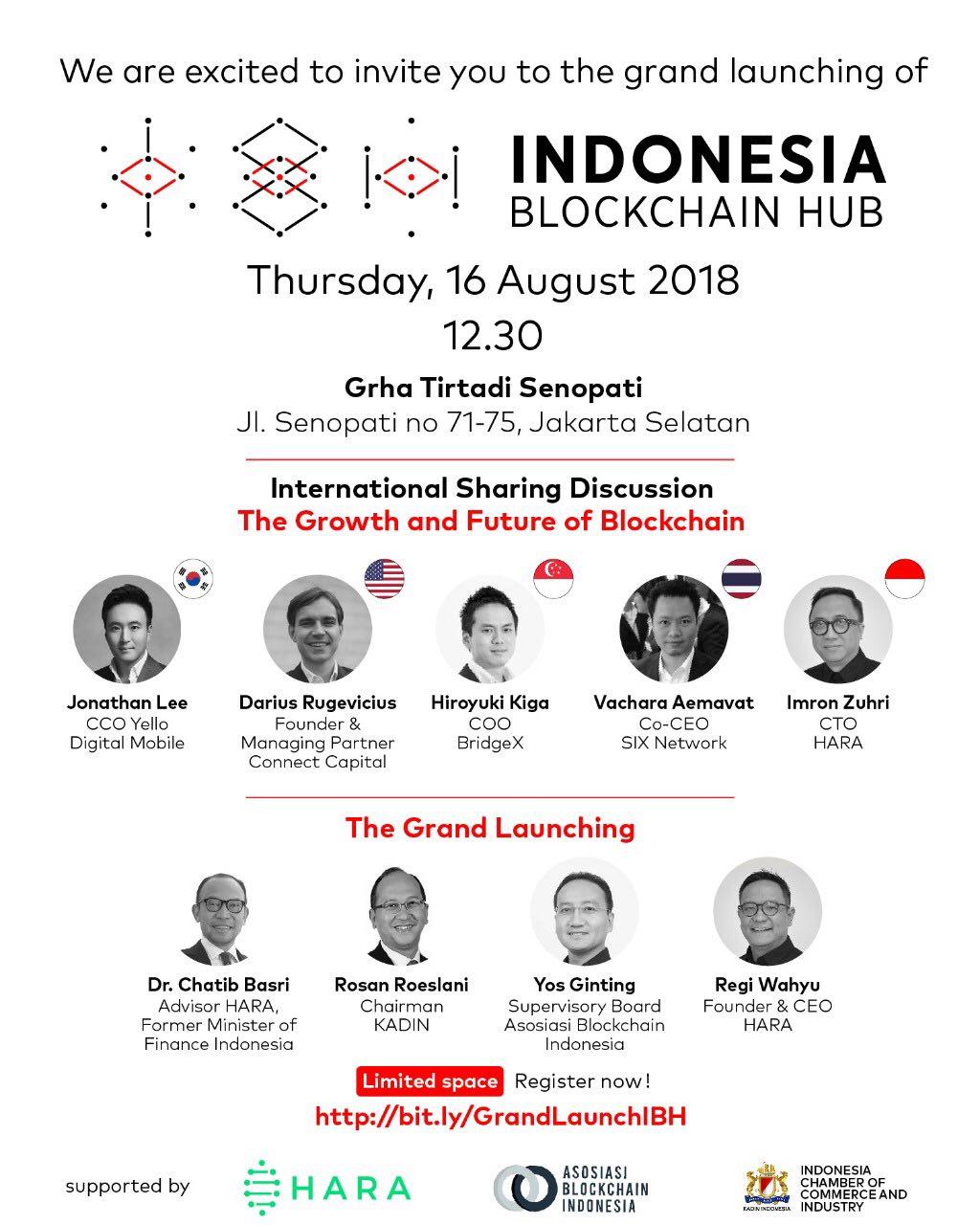 Indonesia Blockchain Hub, acara ABI