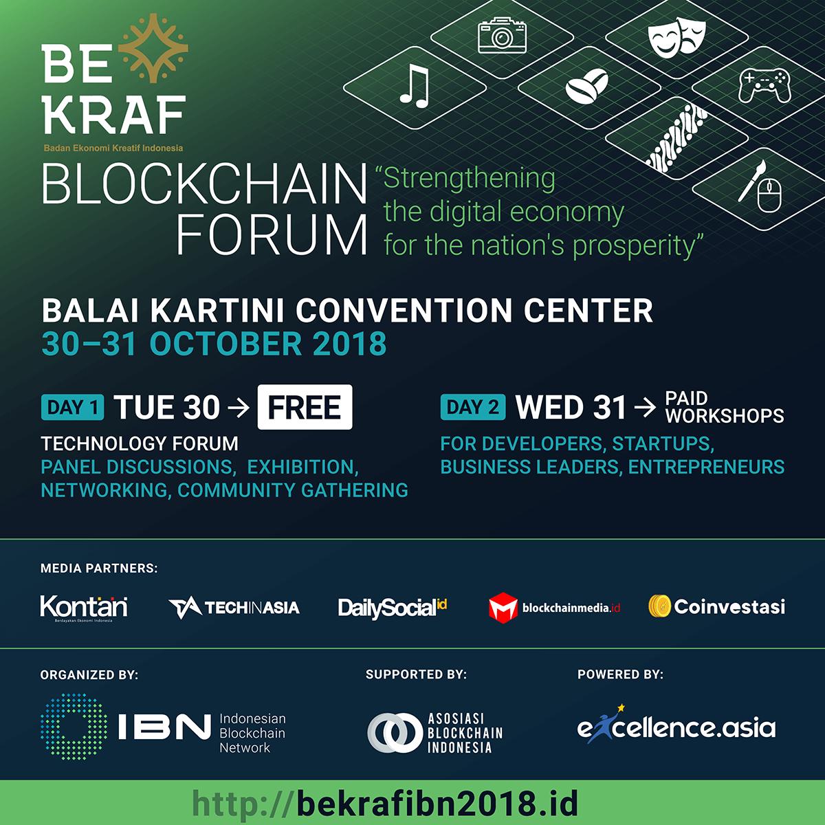 BEKRAF asosiasi blockchain indonesia
